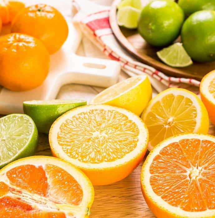 Organes, Limes, and Other Vitamin C Sources