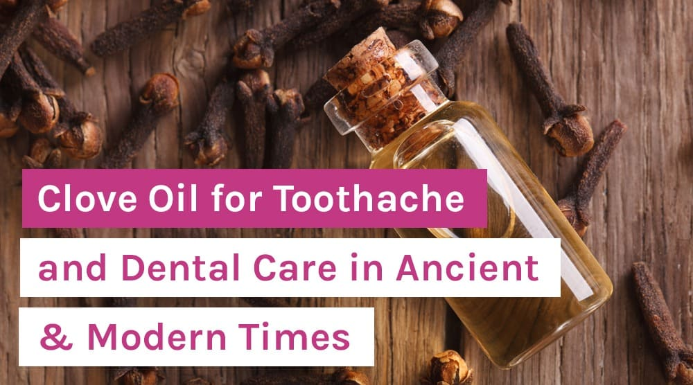 Clove Oil for Toothache and Dental Care in Ancient & Modern Times
