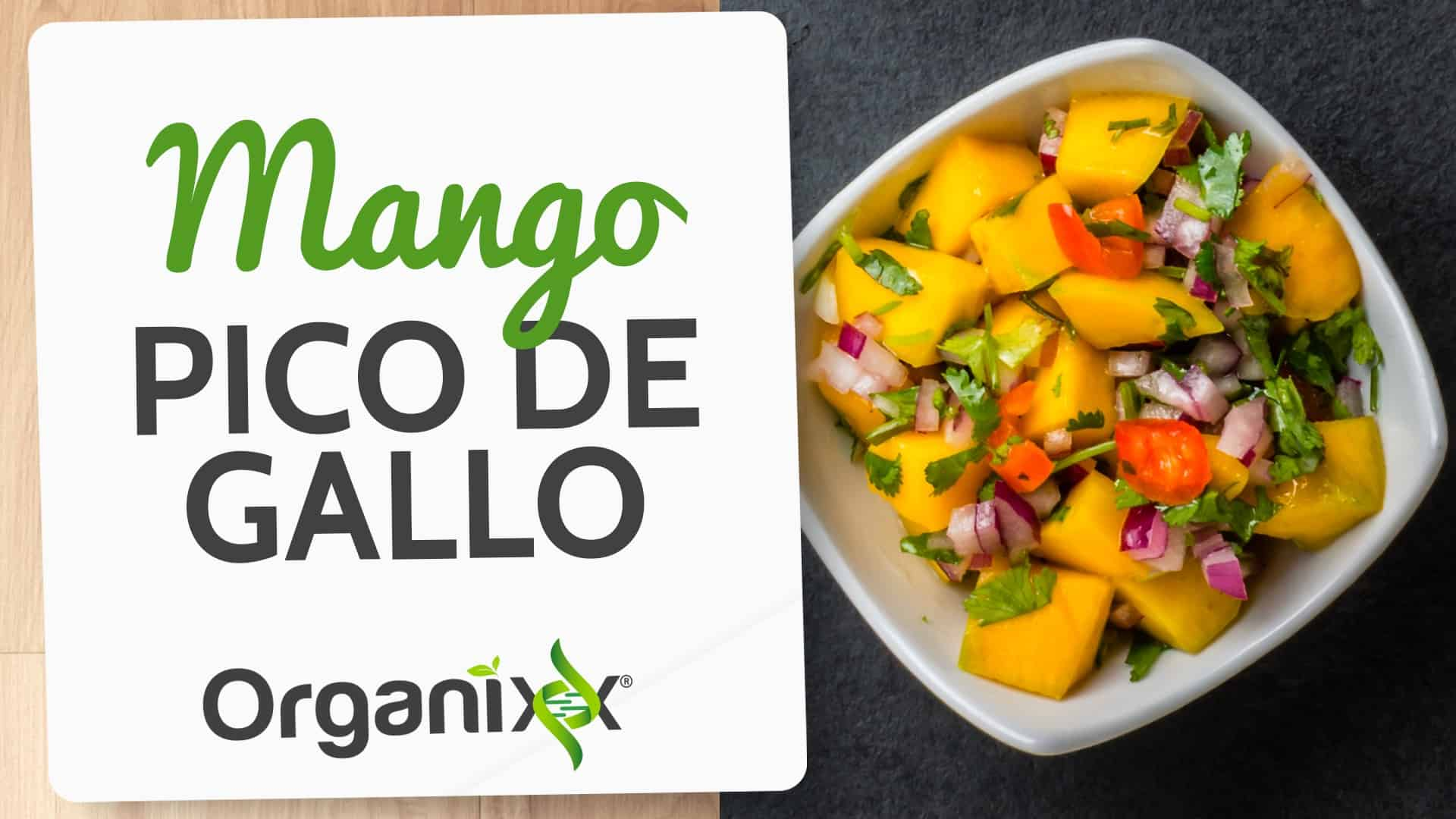 Mango Pico de Gallo Recipe