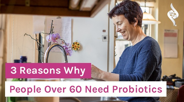 3 Reasons Why People Over 60 Need Probiotics