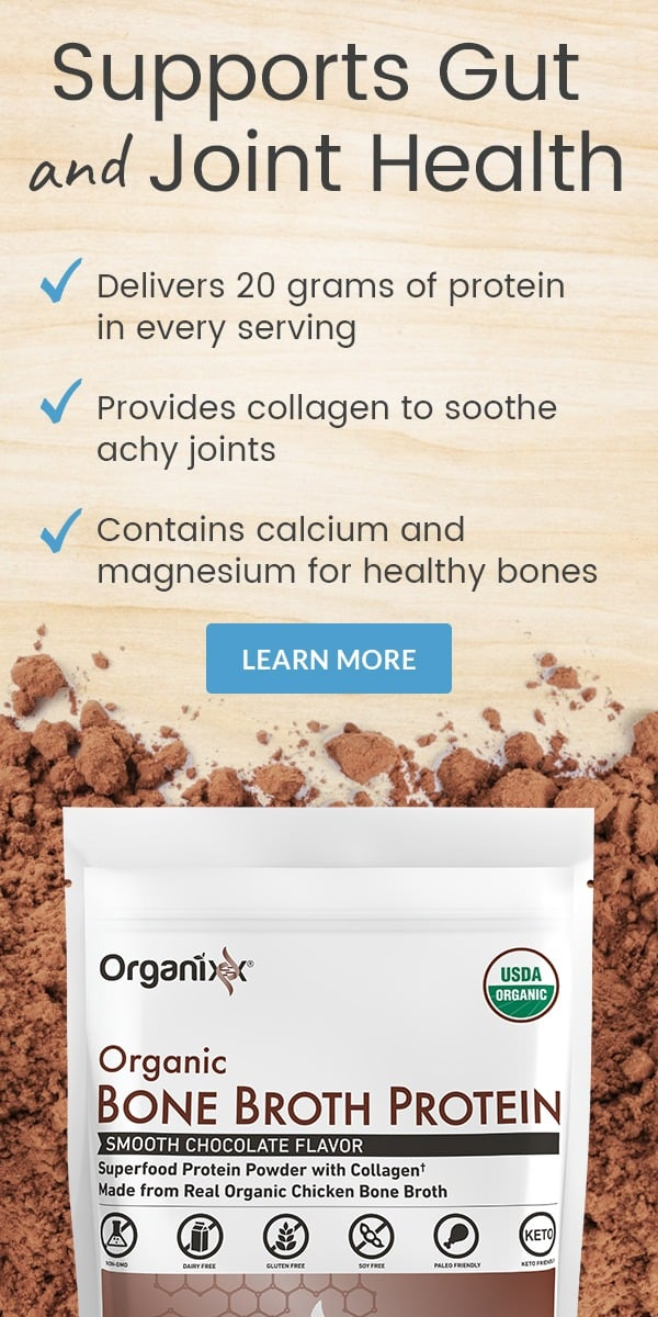 Organixx Organic Bone Broth Protein