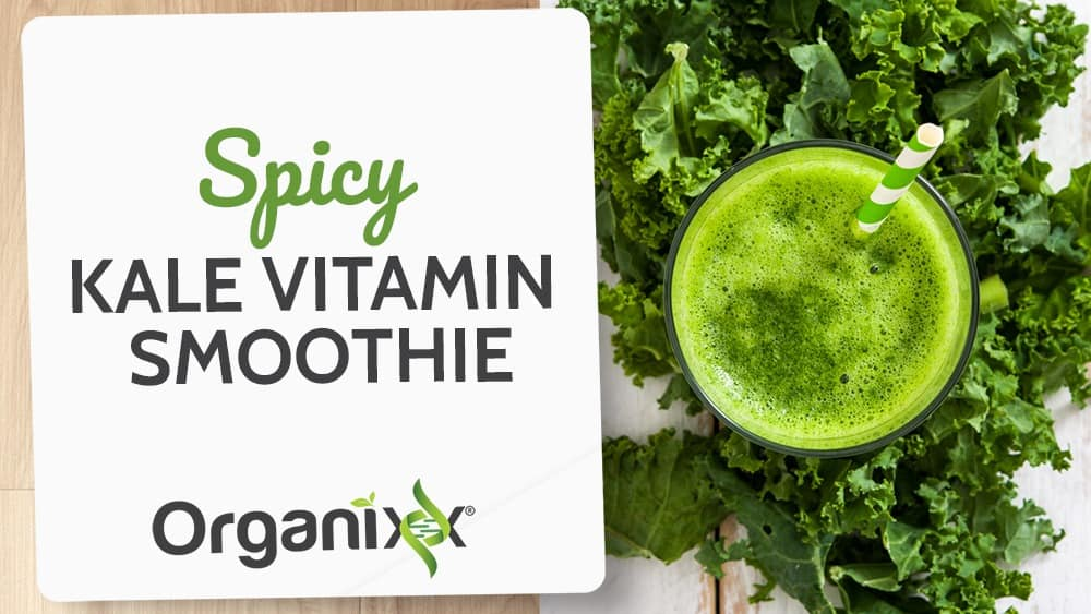 Spicy Kale Vitamin Smoothie