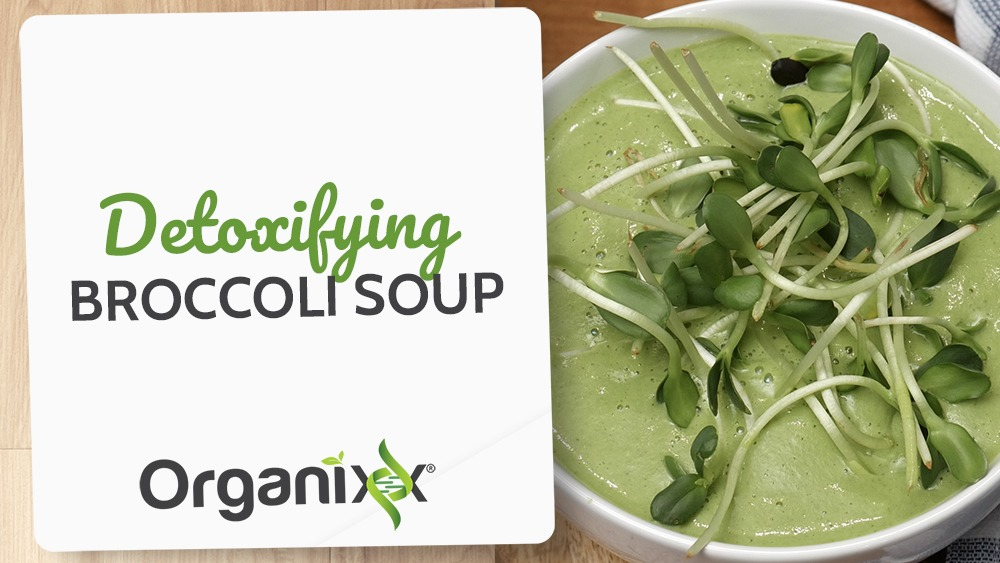 Detoxifying Broccoli Soup