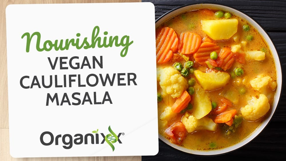 Nourishing Vegan Cauliflower Masala