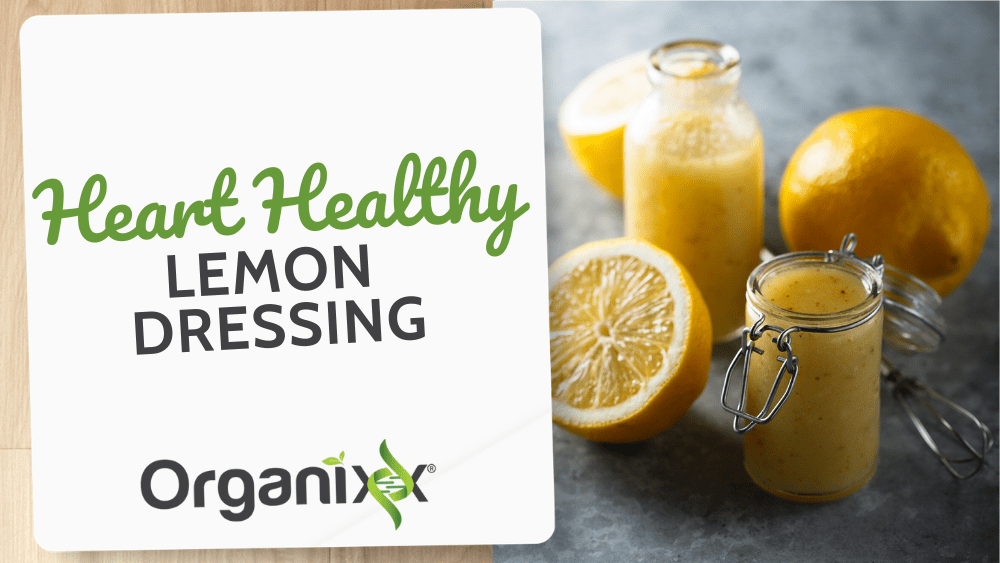 Heart Healthy Lemon Dressing