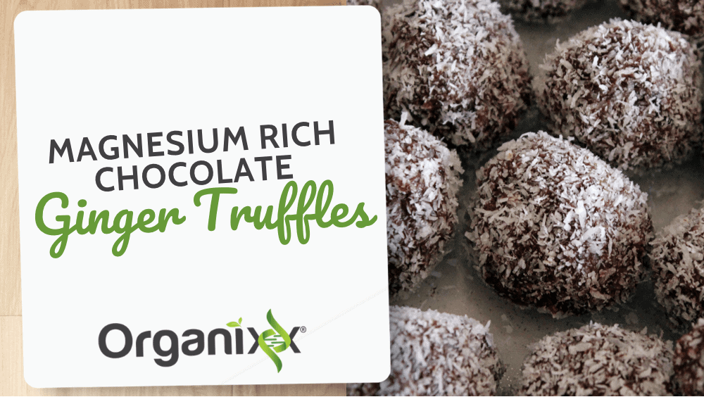 Magnesium Rich Chocolate Ginger Truffles