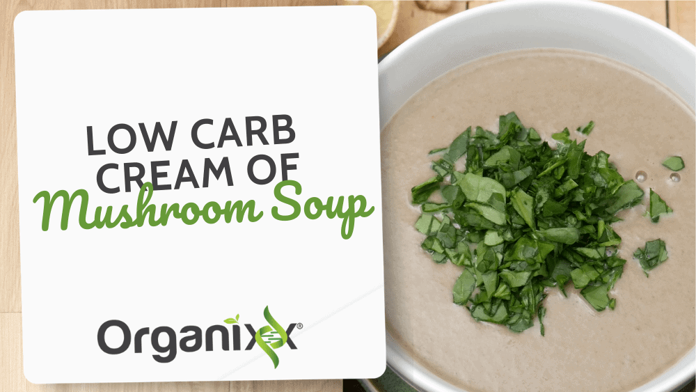 Low Carb Cream of Mushroom Soup