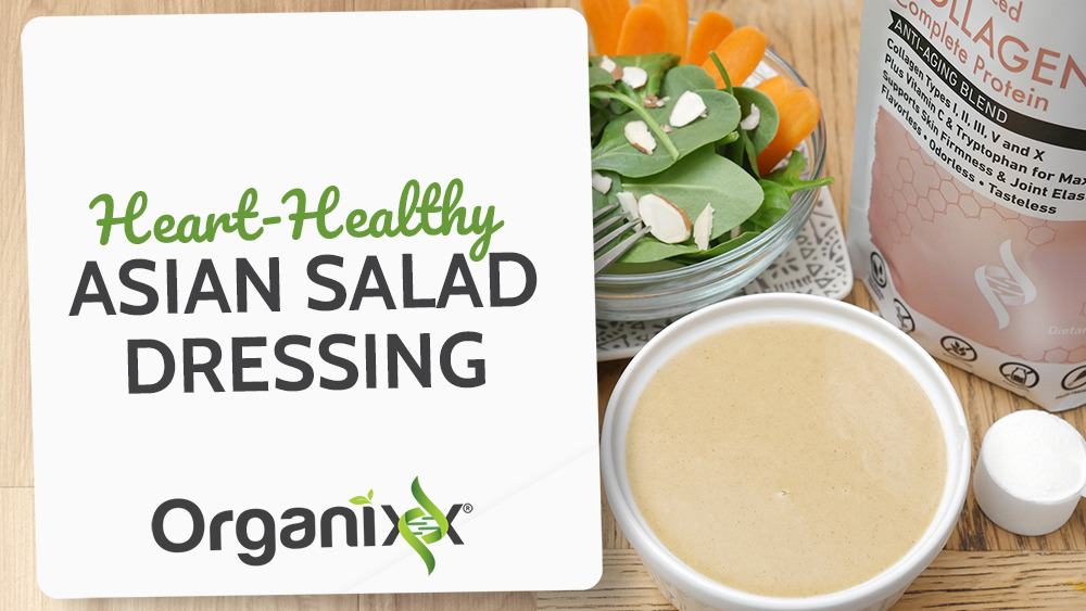 Heart Healthy Asian Salad Dressing
