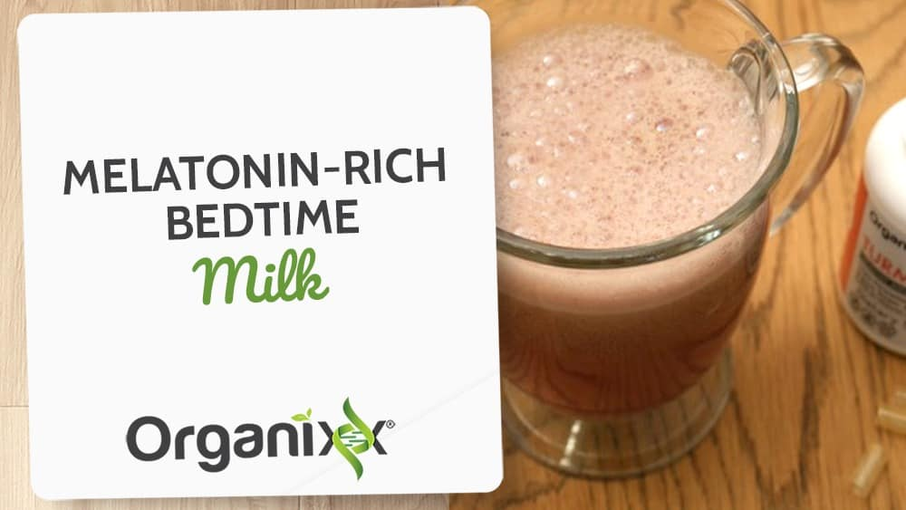 Melatonin-Rich Bedtime Milk