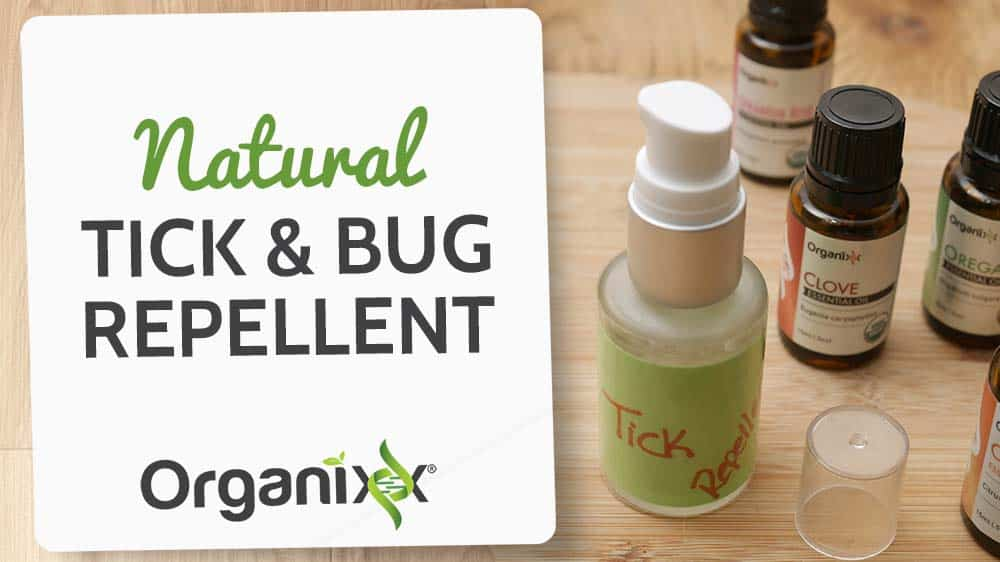 Natural Tick and Bug Repellent