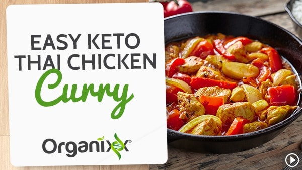 Keto Thai Chicken Curry