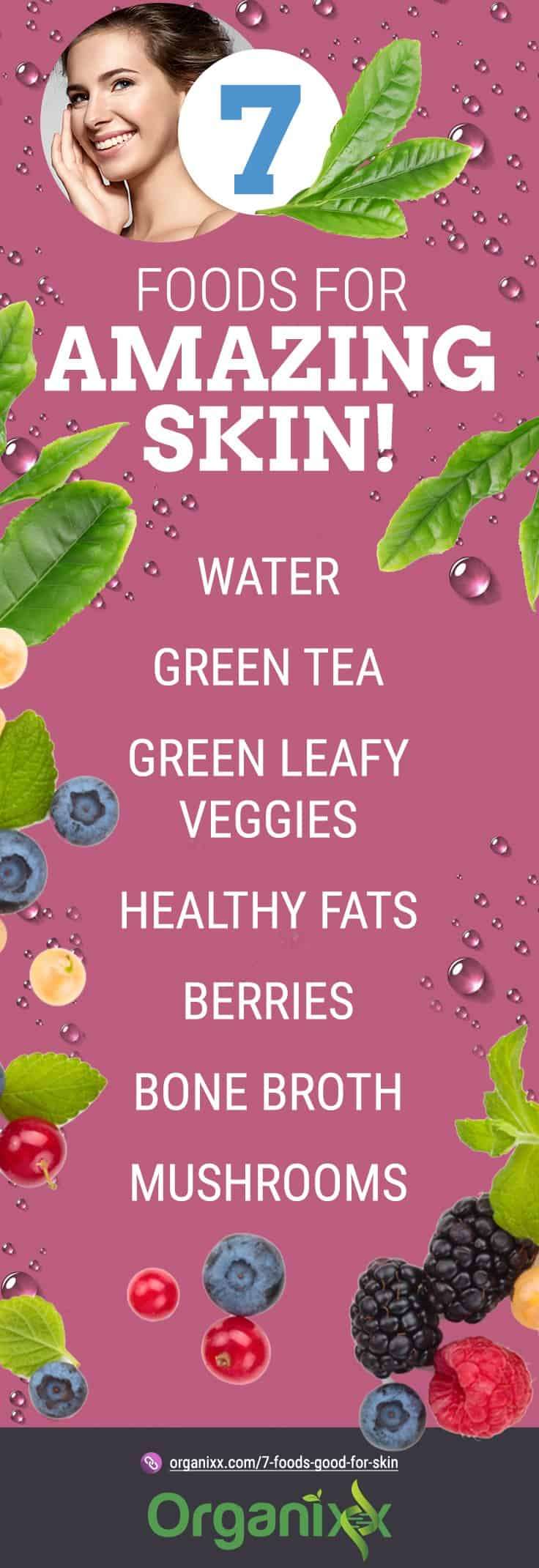 List of 7 foods good for skin