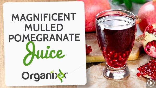 Magnificent Mulled Pomegranate Juice