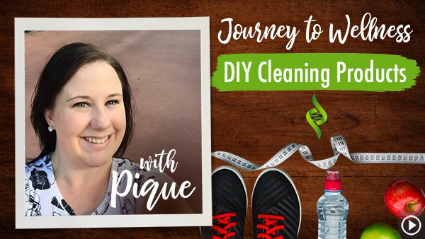 Pique's DIY All-Natural Cleaning Products | Journey to Wellness